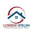 home logo design vector image