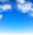 Realistic Sky vector image