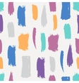 Seamless brush pattern vector image vector image