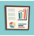 Presentation Infographics Retro Vintage Business vector image