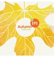 Simple Autumn Background vector image