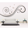 wall decoration vector image vector image