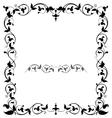 Patterned frame vector image vector image