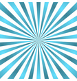 Blue white rays poster star burst vector image