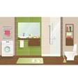 Bathroom Interior Concept vector image