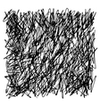 doodle square vector image