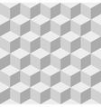 Cubes seamless background vector image