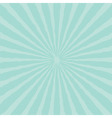 Blue sunburst starburst with ray of light Template vector image