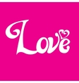 letters love text doodles vector image