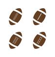 american football vector image