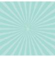 Blue sunburst starburst with ray of light Template vector image