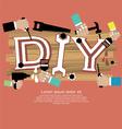 DIY Concept EPS10 vector image