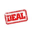 Deal rubber stamp vector image
