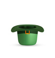 St Patricks Day Green Hat vector image