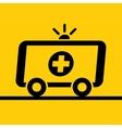 Ambulance mobile vector image