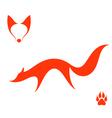 Fox Set vector image