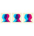 go social interaction vector image