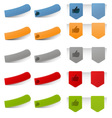 Various Tab Icons vector image