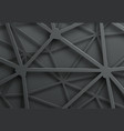 abstract dark background with pattern of cobweb vector image