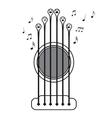 Guitar choir vector image