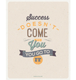 Quote Typographical Background design vector image