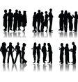 crowd design vector image
