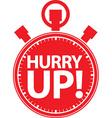 Happy hour alarm clock icon vector image