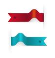 Ribbon Bookmarks vector image vector image