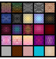Big collection of seamless patterns vector image