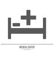 Medical diagnostic checkup graphic design concept vector image