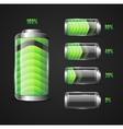 Battery full level indicator vector image