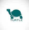 image of an turtle design vector image vector image