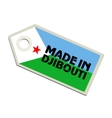 Made in Djibouti vector image vector image