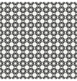 Geometric line monochrome lattice seamless arabic vector image