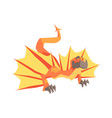 dragon mythical and fantastic animal vector image