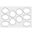 Hand Drawn Frames Set vector image