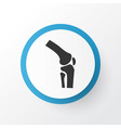 joint icon symbol premium quality isolated knee vector image