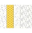 Modern patterns for prints vector image