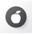 fruit icon symbol premium quality isolated apple vector image