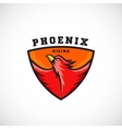Phoenix Rising Abstract Logo Template vector image