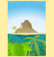travel agency poster vector image