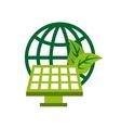 green think design vector image