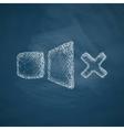 sound off icon vector image
