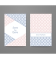 Business card with trendy colors vector image vector image