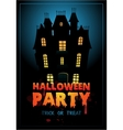 Happy halloween poster with vector