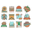 house and home building construction repairs vector image