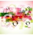 stylish arrows background vector image