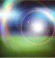 Sunlight on a dark background vector image