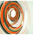 Futuristic abstract shape vector image