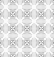 Slim gray hatched crosses vector image